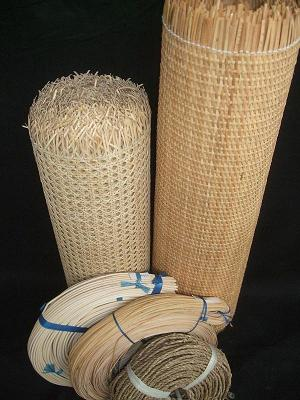 Wicker Furniture Baskets And Cane Materials